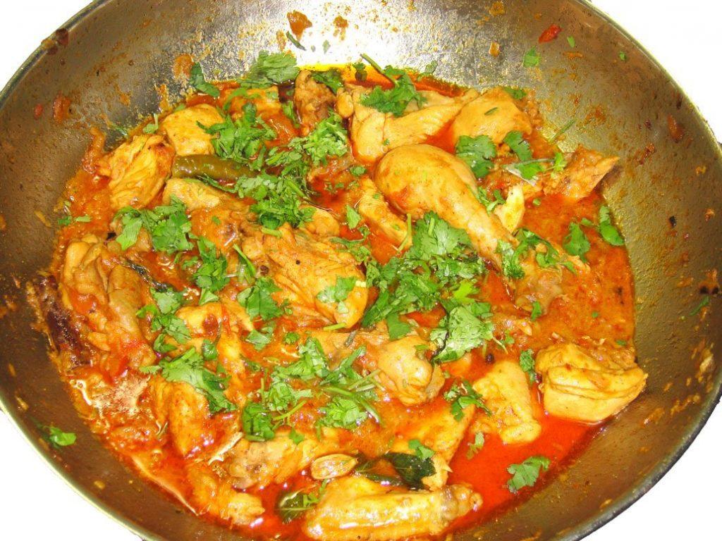 chicken khorma, mugh khorma
